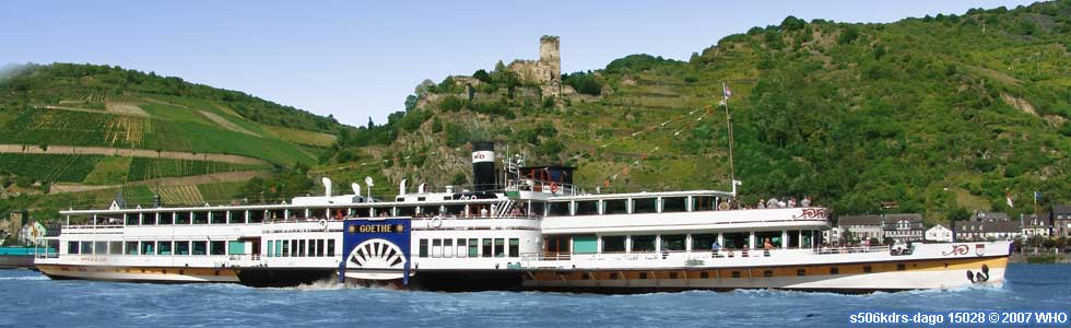 Rhine River Cruises between Cologne, Coblence, Rudesheim, Wiesbaden and Mainz